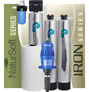 Hệ thống lọc tổng Pelican - xử lý Sắt, Mangan và làm mềm nước không sử dụng muối WF6 class=